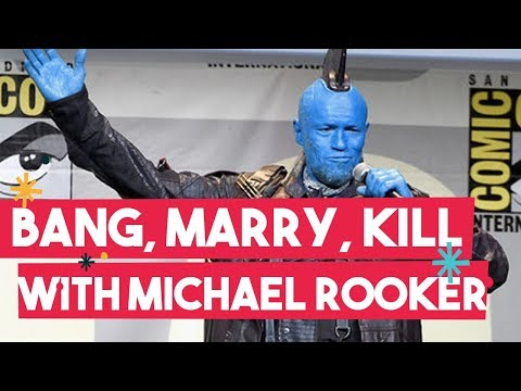 Michael Rooker Played Bang Marry Kill With Us At ComicCon & You Won't Believe Who Crashed The Stage