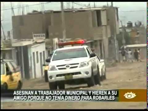 Asesinan a trabajador de Municipalidad de El Porvenir