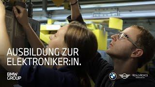 Ausbildung zum Elektroniker (w/m/x) für Betriebstechnik bei der BMW Group