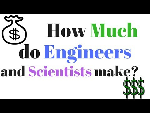 How Much do Engineers and Scientists Make? Salary and Employment Statistics