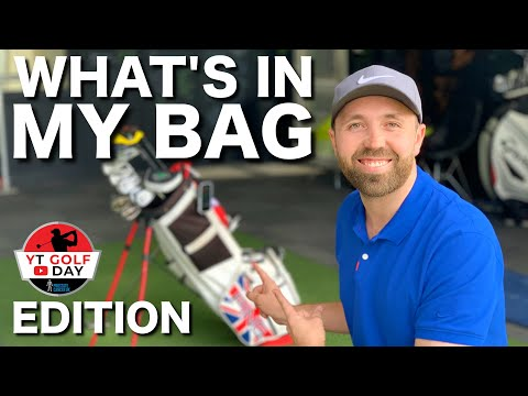 WHAT'S IN MY GOLF BAG - YT GOLF DAY EDITION