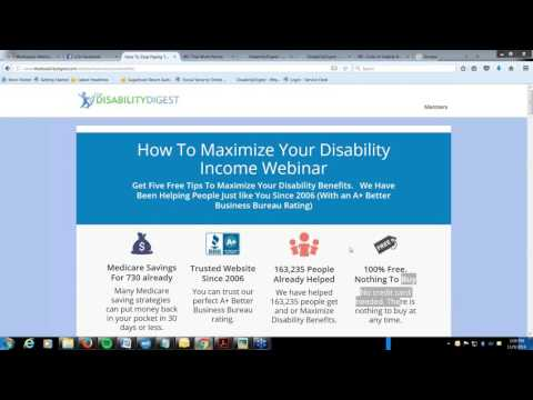 Five Tips To Maximize Your Disability Webinar