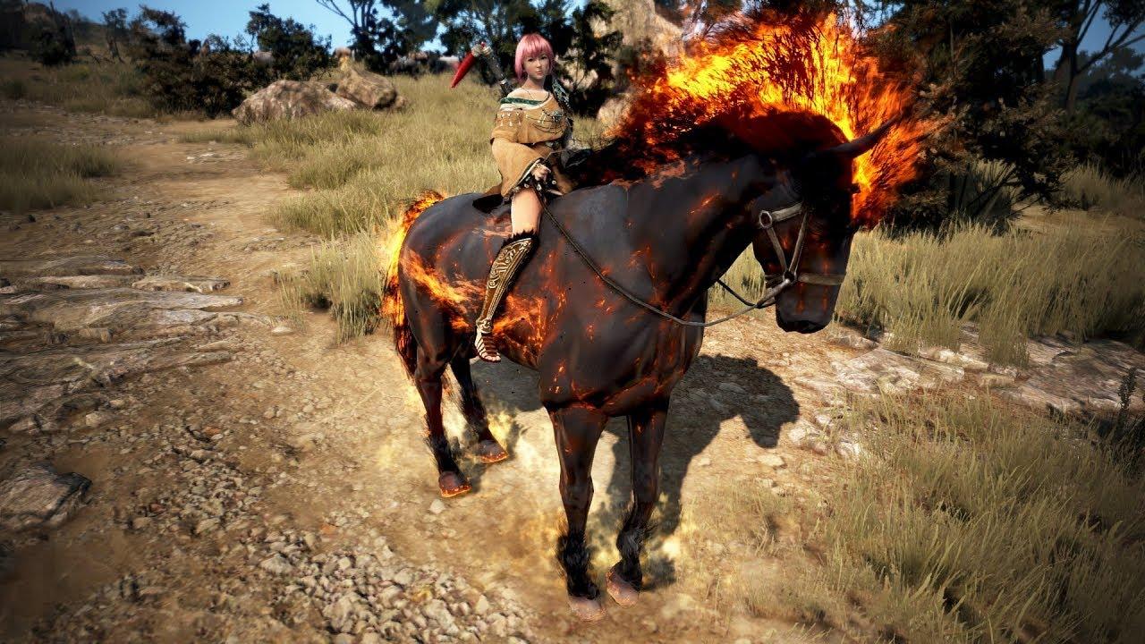 Black Desert - T9 Doom horse preview!