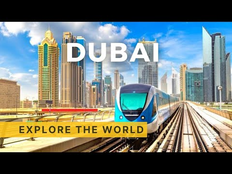 Dubai Metro Ride - Red and Green lines, UAE