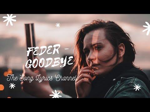 paroles , Feder   Goodbye