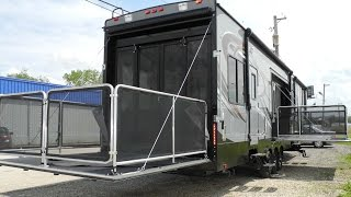 *SOLD* 2015 CYCLONE THOR 4200 TOY HAULER FIFTH WHEEL RV RAMP DOOR GARAGE  HEARTLAND i94RV.com