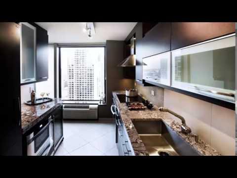 مطابخ صغيرة مستطيلة Small rectangular kitchens - YouTube