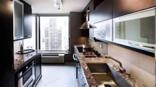 مطابخ صغيرة مستطيلة Small Rectangular Kitchens