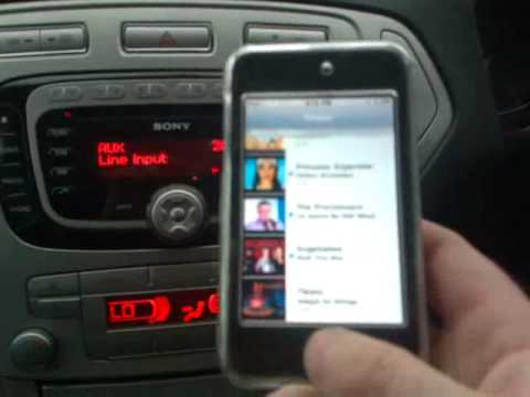 ipod touch bluetooth incar mondeo mk4 youtube. Black Bedroom Furniture Sets. Home Design Ideas