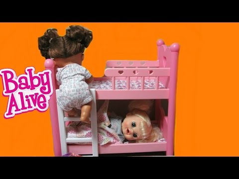 BABY ALIVE Dolls Sneak out of Bed Compilation: Real Surprise