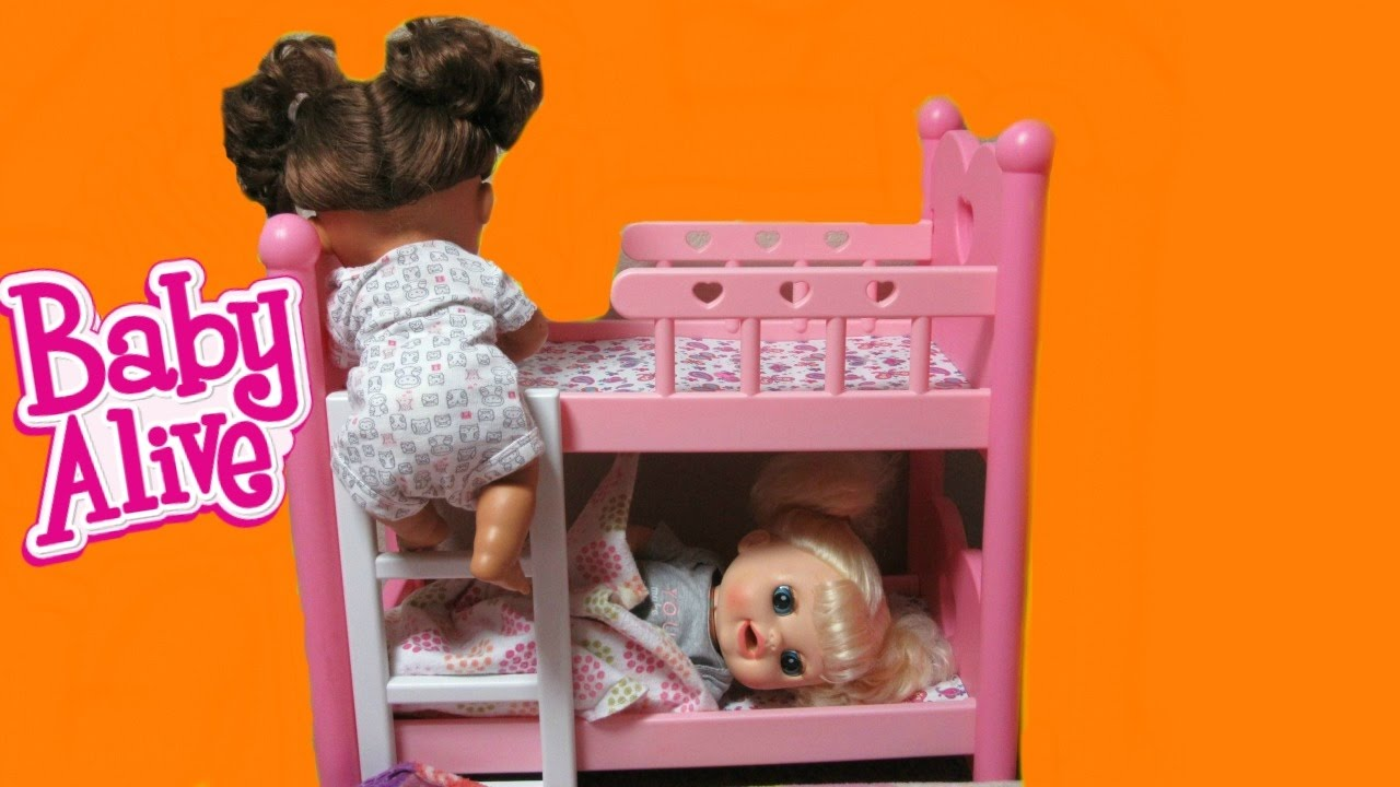 Baby Alive Dolls Sneak Out Of Bed Compilation Real