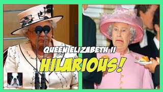 Funny Photos of Queen Elizabeth II!