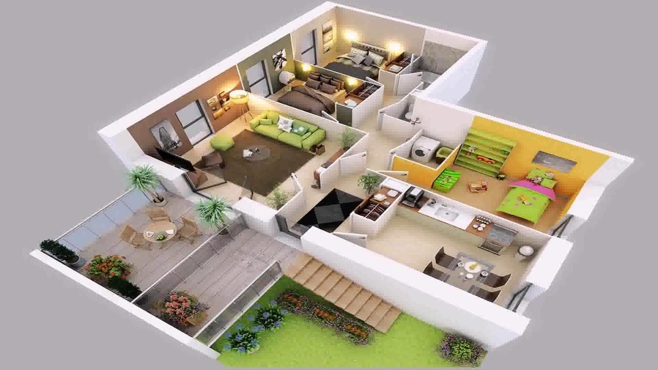 Korean modern house interior design bedroom