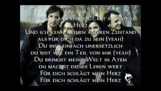 Silbermond Für dich Schlägt mein Herz (Lyrics)
