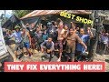 Best FILIPINO SHOP That Can Fix EVERYTHING | Fighter Boys Philippines