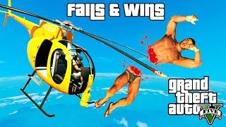 GTA 5 FAILS & WINS #11 (Best GTA V Funny Moments Compilation)