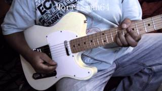 "Kurtis Blow ""THE BREAKS "" Guitar Play along"