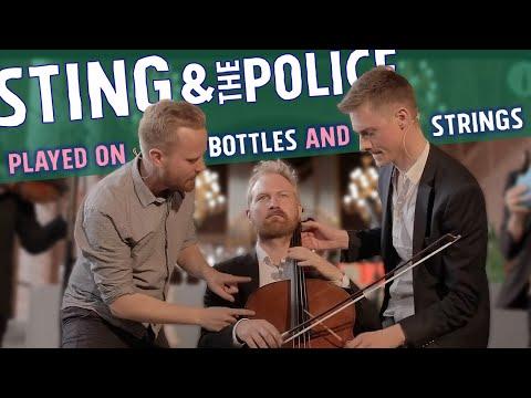 Bottle Boys & Danish String Quartet - Sting, Strings and Bottles (Sting Medley)