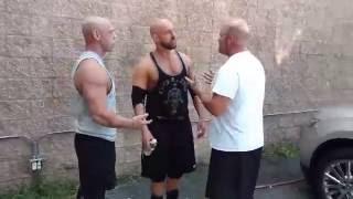 CWF Mid-Atlantic Wrestling: CW Anderson confronts Ric Converse (9/4/16)