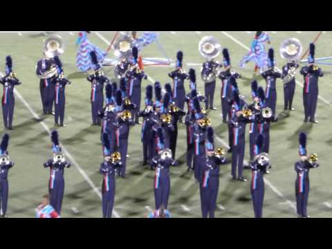 Hendrickson High School Marching Band UIL 6A Area Kelley Reeves 3D
