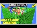 La Sfida Dei Lucky Block Giganti Di Creeper! - Minecraft Ita