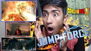 WHAT!?! JUMP FORCE OFFICIAL Trailer REACTION...OMG