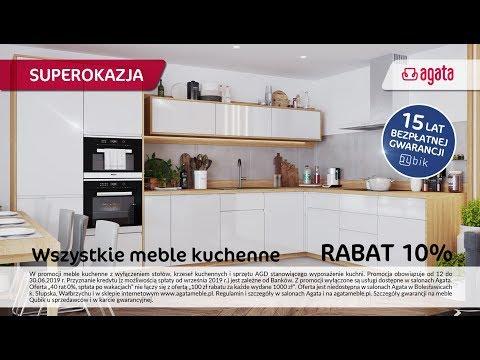 Promocja Na Meble Kuchenne Salony Agata Czerwiec 2019 Youtube