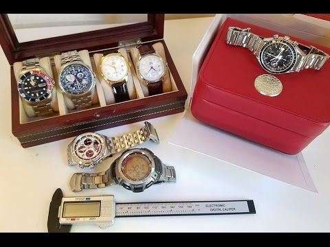 Watch Collection - Current State and Review: Omega Casio Citizen Orient Seiko