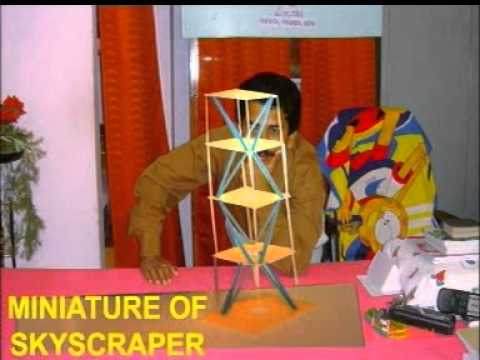 Science project and innovator mihir kumar panda 11 youtube for Working model best out of waste