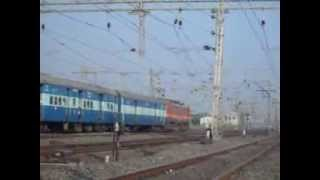 19023/Mumbai Firozpur Janta Express With WAP-1
