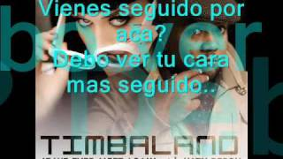 [ESPAÑOL] Timbaland ft. Katy Perry - If we ever meet again - Traducida.