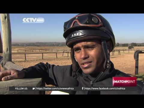 Young African jockeys train at Johannesburg academy