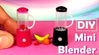 DIY Miniature Blenders - Dollhouse DIY