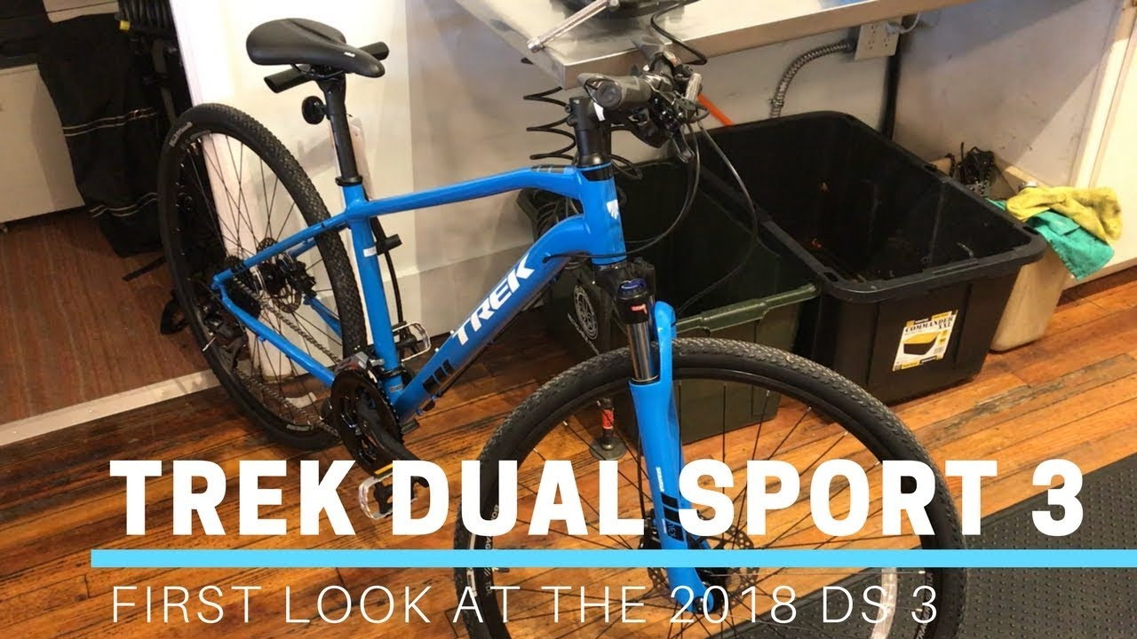 2018 Trek Dual Sport 3 Hybrid Bicycle First Look Feature