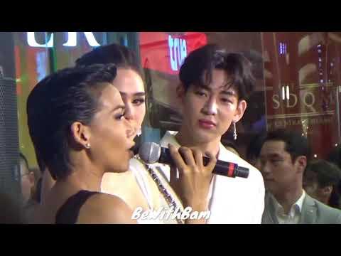 GOT7 BAMBAM - RESTIER GRAND OPENING IN THAILAND ( 20180523 )