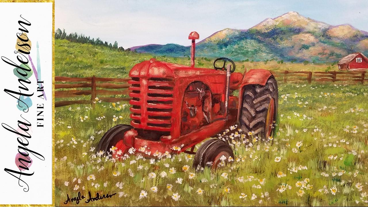 """John magne lisondra on twitter: """"landscape painting tutorial in."""