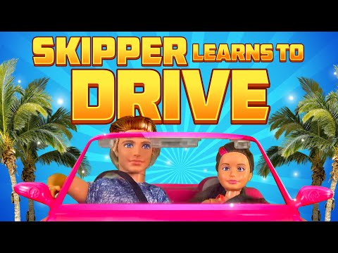 Barbie - Skipper Learns to Drive | Ep.89