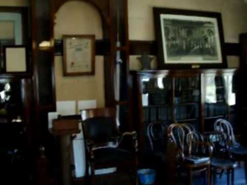 Inside the Espy Post of the Grand Army of the Republic  Carnegie PA