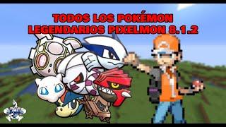 Todos los Pokémon legendarios de Pixelmon 8.1.2