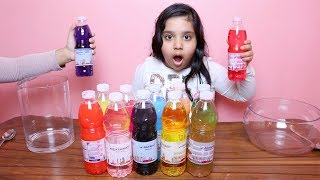 تحدي لا تختار ماء السلايم الخاطئ !!! Don't Choose the Wrong Water Bottle Slime Challenge