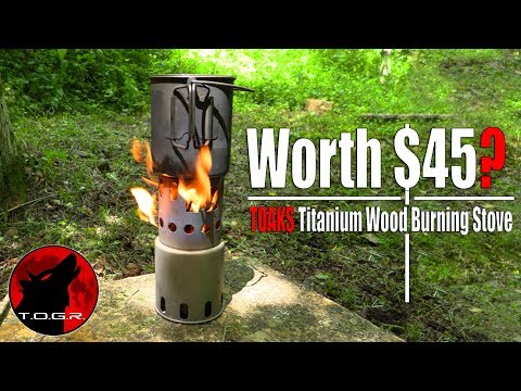 Worth $45? - Toaks Titanium Wood Stove Review
