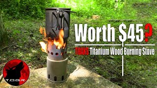 Worth $45? - Toaks Titanium Wood Stove Review