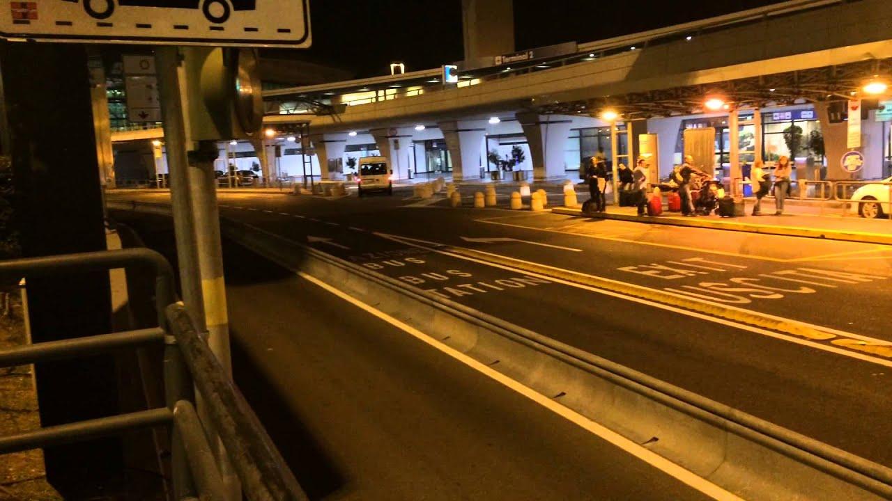Fiumicino airport - Rome - arrivals - YouTube