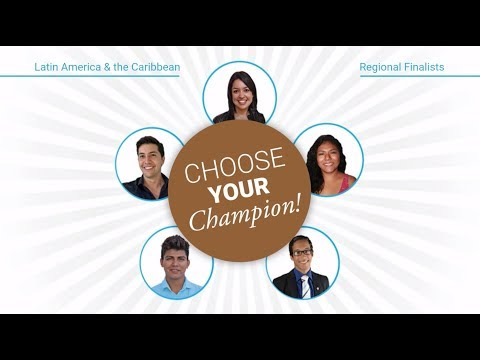Young Champions of the Earth - Latin America & the Caribbean Regional Finalists