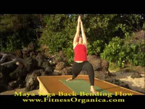 Maya Yoga Back Bending Flow Series by Nicki Doane