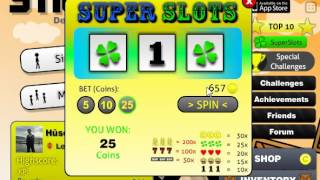 Stick Run SuperSlots 750 Coin Win !