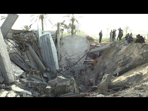 AFP news agency: Israeli strikes on Khan Younes in southern Gaza strip | AFP