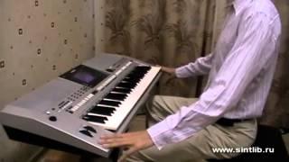 Постановка рук на синтезаторе фортепиано пианино