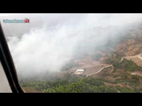 İki yangında 5 hektar ormanlık zarar gördü!