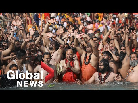 "India's Kumbh Mela becomes ""super spreader"" event as thousands attend festival amid COVID-19 surge"